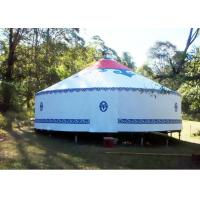 Buy cheap Mongolian Yurt Tent Traditional Mongolian Canvas Yurt Tent , Easy To Assemble Mongolian Style Tents from wholesalers