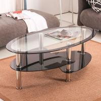 Buy cheap Modern Design Small Round Glass Coffee Table/Hot Sale New Design Tea Table from wholesalers