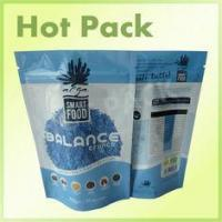 Buy cheap Laminatied Resealable Smart Food Balance Cruch Stand Up Pouch With Ziplock from wholesalers