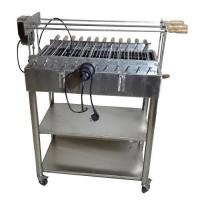 Buy cheap Brazilian Churrasco Charcoal Stainless steel BBQ Spit Roaster Welding Technology from wholesalers
