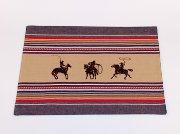 Buy cheap Cowboy and Horse Woven Placemat from Wholesalers