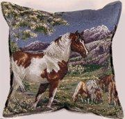 Buy cheap Mustangs Tapestry Pillow from wholesalers