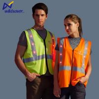 Buy cheap Hi Vis LED Fluorescent Yellow Green Orange Safety Vest from wholesalers