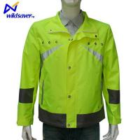 Buy cheap Sports Casual Waterproof LED Glowing Reflective Motorbike Cycling Running Safety Jackets from wholesalers