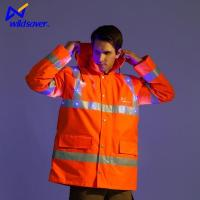 Buy cheap Personalised Hi Vis LED Flashing Reflective Warning Outdoor Work Safety Jackets from wholesalers