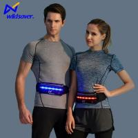 Buy cheap Popular Fashion Safety Running Bag Sports LED Reflective Waist Pouch Fanny Pack for Runners from wholesalers