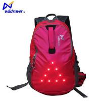 Buy cheap Outdoor Sports Safety Design LED Flashing Hiking Camping Cycling Backpack Bag from wholesalers
