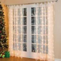 Buy cheap Indoor and outdoor fiber optic curtain light, wall window decoration from wholesalers
