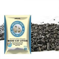 Buy cheap Pet Cleaning Grooming Products Premium Gold Scoopable Pine Wood Pellet Kitty Litter Cat Litter from wholesalers