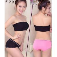 Buy cheap 2016 Bamboo Fiber Panties Young Girl Lovely Underwear Spot Lady Briefs from wholesalers