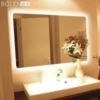 Buy cheap Decorative Dressing LED Silver Aluminium Mirror, Beauty Salon Cosmetic Bathroom Light Mirrors from wholesalers
