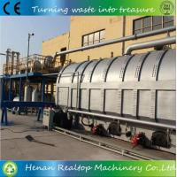 Buy cheap Used Tyre Pyrolysis to Oil Equipment from wholesalers