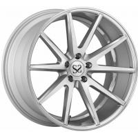 Buy cheap Silver Machined forged Magnesium Wheel from wholesalers