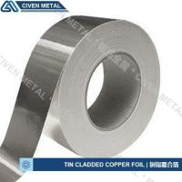 Buy cheap Extensions Tin Cladded Copper Foil from wholesalers