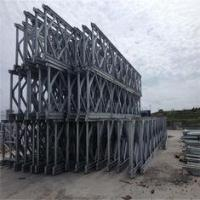 Buy cheap Painted Bailey Suspension Bridge Q345B Temporary Prefabricated Steel Bridges from wholesalers