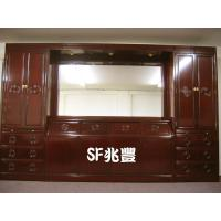 Buy cheap Bedroom Solid Rosewood Bedroom Wall Unit Set from wholesalers
