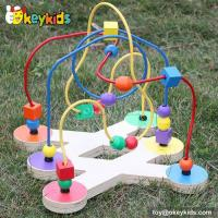Buy cheap Top fashion toddlers home play wooden wire maze for 1 year old W11B079 from wholesalers