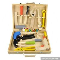 Buy cheap Top sale children educational tool set wooden toy box W03D018 from wholesalers