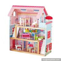 Buy cheap Hot sale girls perfect kids wooden doll house play W06A100 from wholesalers