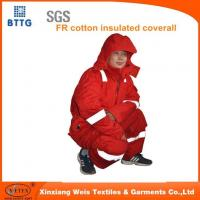 Buy cheap FR Premium Insulated Coverall Cotton Blend from wholesalers