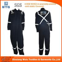 Buy cheap 150gsm Aramid Coverall For Petroleum Workers from wholesalers