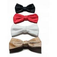 Buy cheap Woven Ties Bow Tie White Bow Tie from wholesalers
