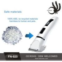 Buy cheap Professional Electric Pet Dog Hair Trimmers pet hair trimmer pet fur trimmer for sale from wholesalers