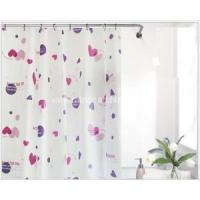 Buy cheap Household Items Printing White Plastic Shower Curtain product