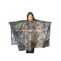Polyester Poncho Camouflage Polyester Military Rain Poncho