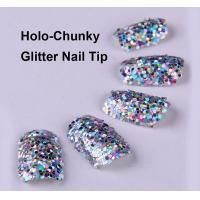 Buy cheap Dazzling Design Nails glitter nails artificial nail art designs 12 tips from wholesalers