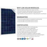 Buy cheap 230w 235w LDK Ontario Domestic Content Compliant poly 60 cell 230w solar panel from wholesalers