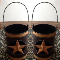 Buy cheap Decorative Metal Luminarie Candle Lantern Rustic Tin Star Country from wholesalers