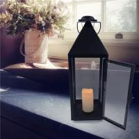 China simple hanging lantern candles on sale