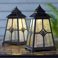 Buy cheap Solar Lotus Outdoor Candle Lantern LED Light from wholesalers