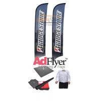 Buy cheap Feather Flag w Flag Pole kit & base or spike - Custom from wholesalers