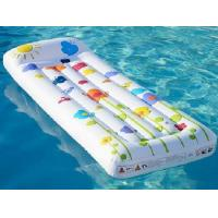 Buy cheap Inflatable floating row floating lounge pool from wholesalers