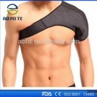 Buy cheap Elastic shoulder support belt for one side self heated tourmaline single shoulder support AFT-SS004 from wholesalers