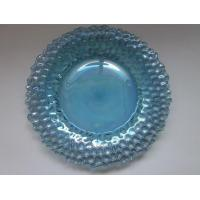 China traditional light blue glass plate |tableware|cook ware on sale