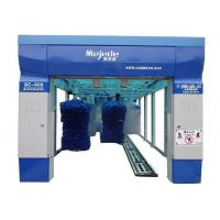 Buy cheap Blue frame 9 brush mejede computer tunnel car wash machine from wholesalers