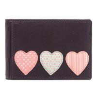 Buy cheap Y5318 HT 23 - Leather Love Heart Applique Travel Pass / Oyster Card Holder from wholesalers