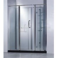 Buy cheap European 3 Doors Pivot Aluminium Alloy Lowes Shower Doors Manufacturer from wholesalers