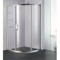 Buy cheap Wholesale Offset Quadrant Aluminium Profile Shower Cubicle Price List from wholesalers