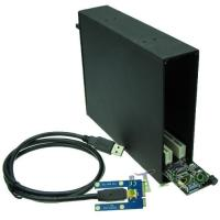 Buy cheap Mini PCIe Host Mini PCIe to Dual PCI Bus Slot Adapter from wholesalers