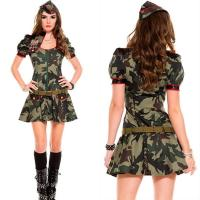 Buy cheap Halloween Army Combat Uniform For Women from wholesalers