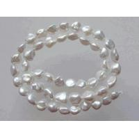 Buy cheap The BEST Nacre Natural White Keshi Pearls from wholesalers