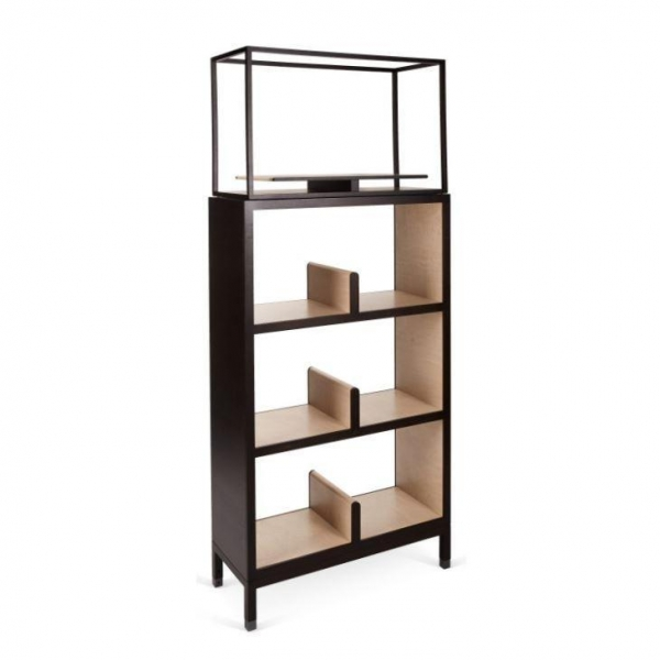 Quality Double Bookcase,Create A Wall of Contemporary Storage with This Bookcase for sale