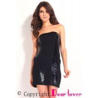 Buy cheap Club Dresses Vogue Women's Paneled Strapless Mini Dress from wholesalers