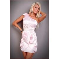 Buy cheap Big Sale Elegant Satin One Shoulder Mini Clubwear from wholesalers
