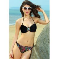 Buy cheap Big Sale Distinctive Ethnic Print Sexy Bandeau Bikini Beach Wear from wholesalers