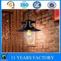 Buy cheap Industrial Antique Metal Black Pendant Ceiling Light 1-light from wholesalers